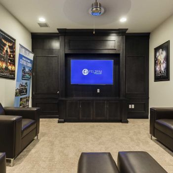 Balmoral Resort theater room